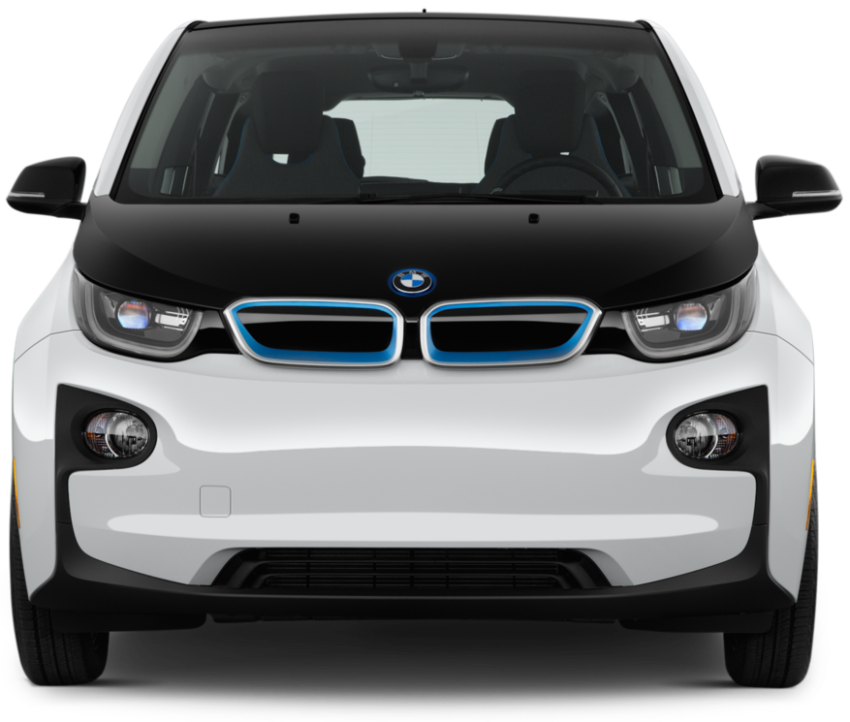 BMW i3 Electric Vehicle from the front